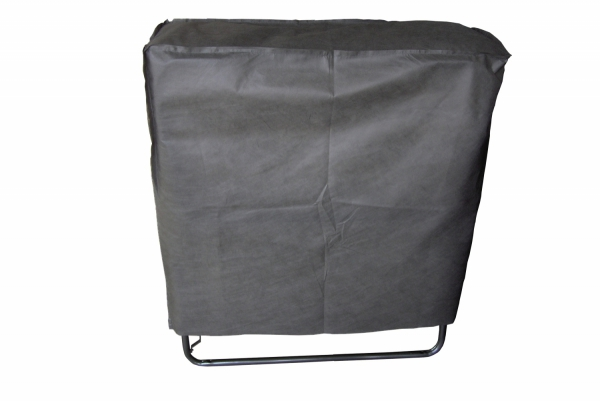 Łóżko składane dostawka hotelowa COMO 190 x 80 cm kółka materac 10 cm