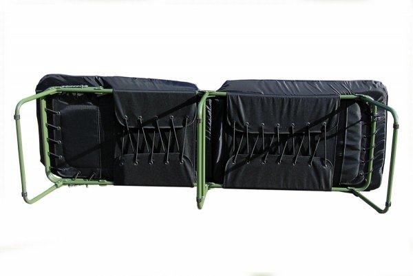 Łóżko polowe, składane L5-3 tkanina skóropodobna, zmywalna