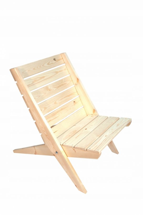 Fotel EcoFurn Granny sosna natural