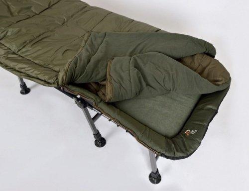 Łóżko polowe, wojskowe L-14 ze śpiworem SB1