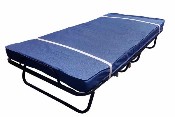 Łóżko składane dostawka hotelowa 190 x 80  COMO  Premium materac o  grubość 13 cm.