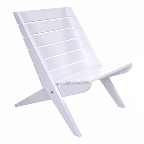 Fotel drewniany Granny z sosny