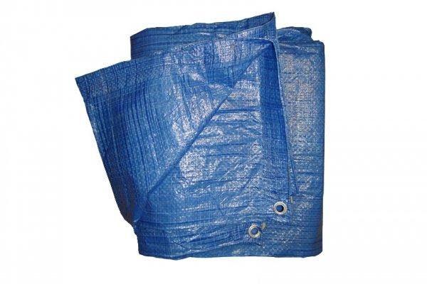 PLANDEKA UNIWERSALNA  niebieska 70gr/m2 wymiar 5x6m W-wa