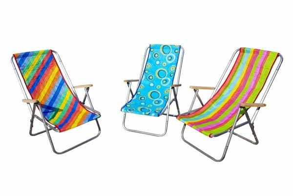 Hit lata - Mały leżak plażowy, składany do torby