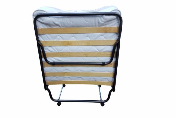 Łóżko składane dostawka hotelowa 190 x 80  COMO materac  Premium grubość 13 cm.
