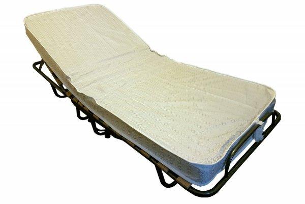 Szpitalne łóżko składane TOKIO z zagłówkiem + pokrowiec  medyczny