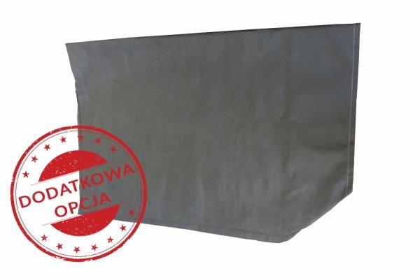Łóżko składane / polowe, dostawka hotelowa TORINO 80 x 190 cm materac 10 cm