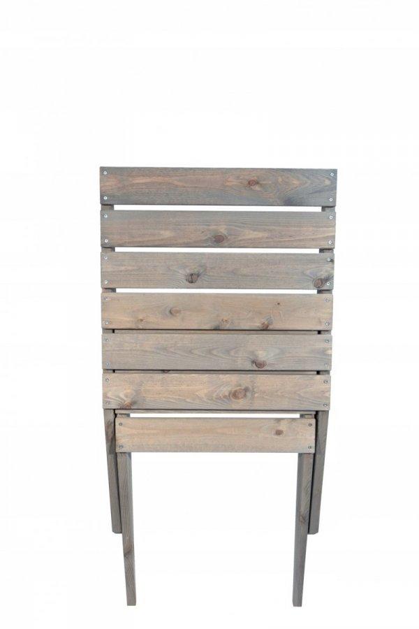 Fotel drewniany złożony
