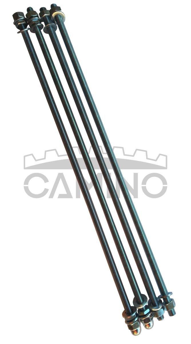 KWD Camino 3 - kompletny zestaw śrub ściągowych do kotła 6-członowego