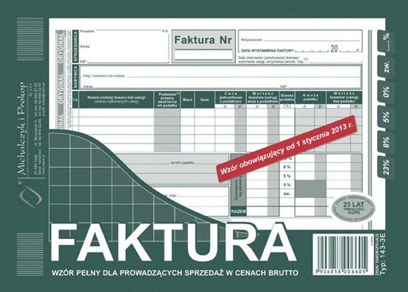 Faktura 143-3E