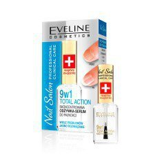 EVELINE NAIL SALON PROFESSIONAL Total Action 9w1 Skoncentrowana Odżywka- Serum 12ml