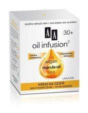 AA Oil Infusion Krem Na Dzień Multi Nawilżenie + Wygładzanie 30+ 50ml Skóra wrażliwa i skłonna do alergii