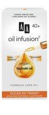 AA Oil Infusion Olejek Do Twarzy Intensywne Odżywienie + Elastyczność 40+ 15ml