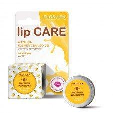 FLOS-LEK Lip Care Wazelina Kosmetyczna Waniliowa 15g (Data ważności 06/19)