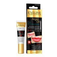 EVELINE Argan Oil Aktywne Serum Błyskawicznie Zwiększające Objętość Ust SOS Lip Booster 12ml