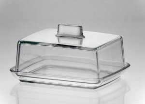 MASELNICZKA pojemnik na masło maselnica szklana