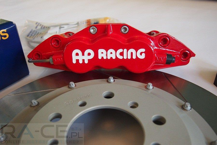 Zestaw hamulcowy przedni AP Racing, BMW E46 M3, CP5555-1037