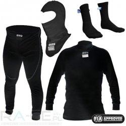 Zestaw bielizny RRS FIA czarna