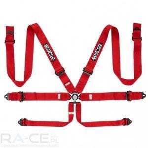 Pasy bezpieczeństwa Sparco RACER 04818RAL