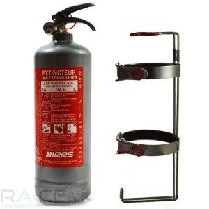 Gaśnica ręczna RRS PRO stalowa 2kg