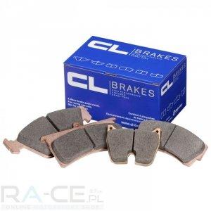 Klocki hamulcowe CL Brakes, RC6, Subaru Impreza (GC8) 2,0 turbo GT/WRX, oś przednia.
