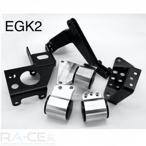 Zestaw mocowania silnika i skrzyni HASPORT Civic EG K20A swap