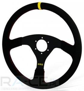 Kierownica zamszowa RRS Off Road 380/0 mm