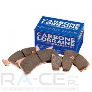 Klocki hamulcowe CL Brakes, RC5+, Subaru Impreza (GC8) 2,0 turbo GT, oś tylna.