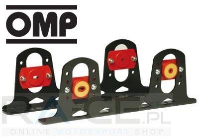 Amortyzowane mocowanie fotela aluminiowe OMP