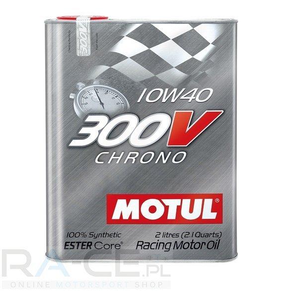 Motul, 300V Chrono 10W40, 2 litry