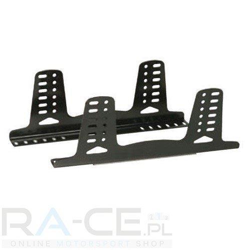 OMP, Mocowanie boczne, aluminiowe 495mm długości, 6mm grubości. Czarne. FIA