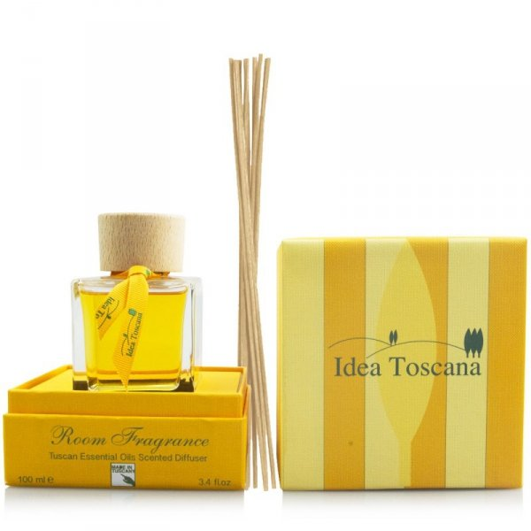 Zapach z patyczkami do domu - Dyfuzor zapachowy 100ml - Idea Toscana