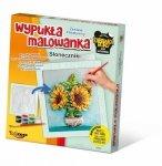Mirage Zestaw kreatywny Wypukła malowanka - Kwiaty, słoneczniki