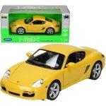 Welly Porsche Cayman, żółte