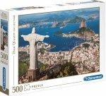 PUZZLE 500 RIO DE JANEIRO HIGHT QUALITY CLEMENTONI