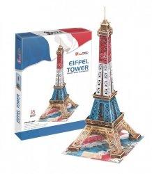 Cubicfun Puzzle 3D Wieża Eiffla edycja specjalna