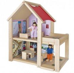 Mały domek dla lalek, 9 elementów