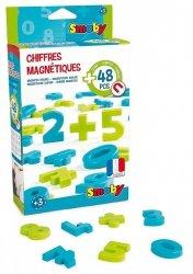 Smoby 48 magnetycznych cyfr i znaków