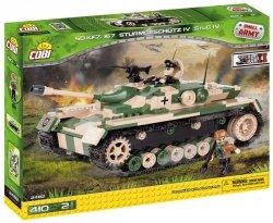 Cobi Klocki Armia Stug IV SDKFZ 167 410 elementów