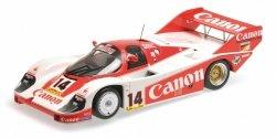 MINICHAMPS Porsche 956 Canon Racing #14 Lammers/Boutsen 3rd Place Silverstone 1000 Kilometers 1983