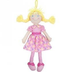 Beppe Lalka szmaciana Cornelia 38 cm, blondynka różowa