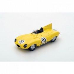 SPARK Jaguar D Type #10 J. Claes/J. Swaters 3rd Le Mans 1955