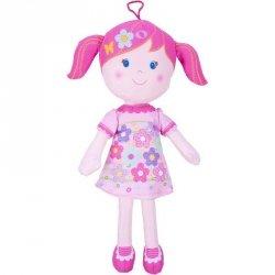 Beppe Lalka szmaciana Alice 35 cm, różowe włosy