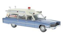 NEO MODELS Cadillac S&S High Top Ambulance 1966
