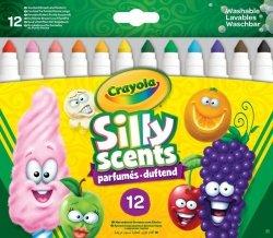 Crayola Markery Silly Scented Słodkie zapachy 12 sztuk