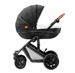 Kinderkraft Wózek głęboko-spacerowy Prime czarny
