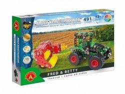 Alexander Zestaw konstrukcyjny Mały Konstruktor Maszyn Rolnych - Fred & Betty