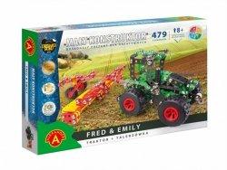 Alexander Zestaw konstrukcyjny Mały Konstruktor Maszyn Rolnych - Fred & Emily