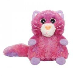 Beppe Pluszak Kot Chealse siedzący 16 cm różowy