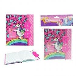 Symag Pamiętnik z sekretnym kodem Toi-Toys Unicorn
